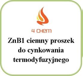 ZnB1 ciemny proszek do cynkowania beczka 250 kg