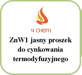ZnW1 jasny proszek do cynkowania beczka 250 kg