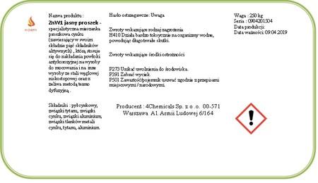 ZnW1 jasny proszek do cynkowania beczka 250 kg  (2)