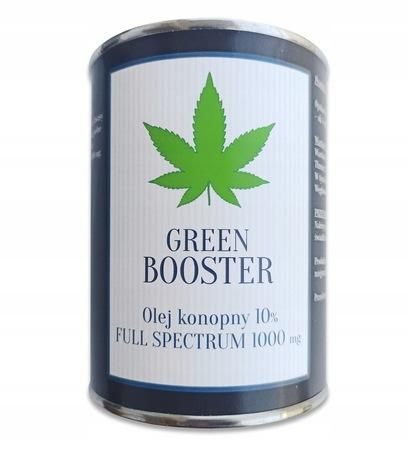 OLEJEK KONOPNY CBD 10% 1000 mg GREEN BOOSTER 20 ml (3)