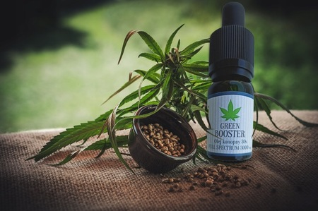 OLEJEK KONOPNY CBD 30% 3000 mg GREEN BOOSTER 10 ml (2)